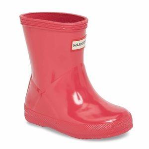 NWB HUNTER Kids Pink Original Rain Boot